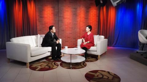 李中子博士纽约会客厅畅谈成功之道