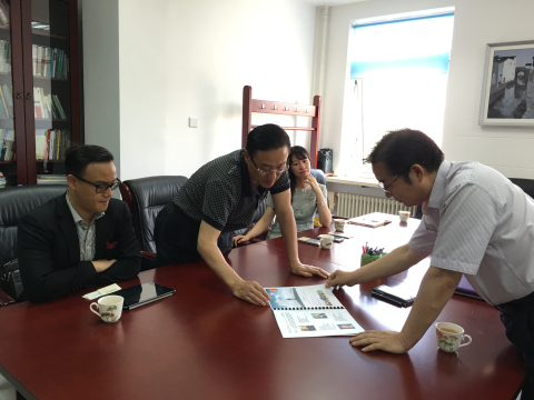 利世集团董事长李中子博士应邀对清华大学附中考察